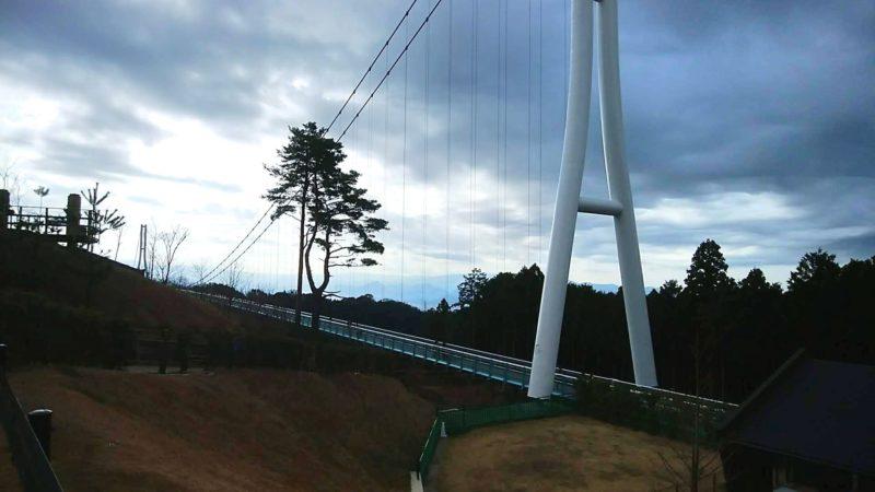 三島スカイウォークの展望デッキからの眺め1