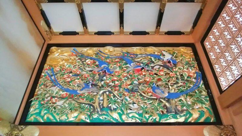 名古屋城本丸御殿の彫刻欄間